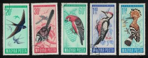 Hungary Protection of Birds 5v SG#2184-2189 MI#2231-2236A CV£9.15