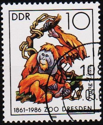 Germany(DDR). 1986 10pf S.G.E2729 Fine Used