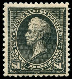 momen: US Stamps #261A Mint OG VF PF Cert