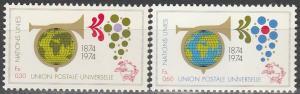 UN  Geneva #39-40 MNH F-VF  (V1918)