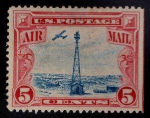USA Scott C11 MH* airmail stamp