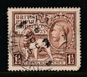 Great Britain a KGV used 1.5d from the 1925 Exhibition set