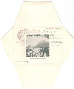 Argentina 1903 Pretty New Year Postal Stationery Envelope Buenos Aires to Berlin