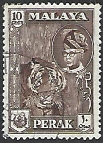 Malaya Perak #132 Used Single Stamp