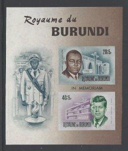 Burundi Sc # B27 mint never hinged (RS)