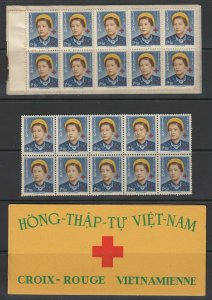 Vietnam, Scott B1, MNH two panes (exploded booklet)