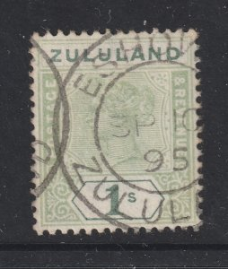 Zululand a used QV 1/-