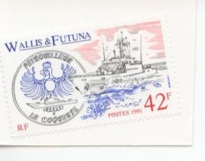 1991 Wallis & Futuna Naval Patrol Boat 401  MNH