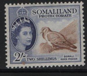SOMALILAND, 137, HINGED, 1953-58, CORONATION ISSUE