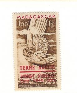 Malagasy Republic,C54,Overprinted Carmine Airmail Single,MNH