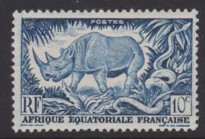 French Equatorial Africa Sc#166 MNH