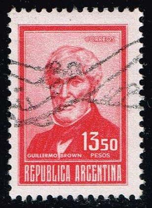 Argentina #1046 Guillermo Brown; Used (0.25)