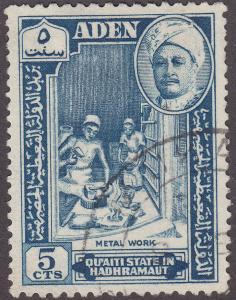 Aden Hadhramaut 29 Hinged 1955 Metal Work