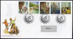 Great Britain 1771-1775 FDC.Michel 1709-1713. E.Blyton,Writer.Dog.Boa.1997.