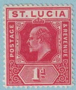 ST LUCIA 58 MINT HINGED  OG * NO FAULTS EXTRA FINE!