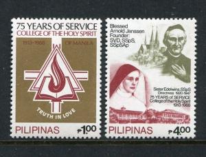 Philippines 1926-1927, MNH, 1988, College of Holy Spirit-75th Ann.