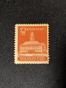 Germany - Soviet sector MI 65P3 semi-postal VF-XFNH, CV $892
