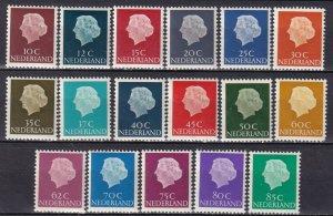 Netherlands #344-6, 347, 348-60  MNH CV $9.85  (Z8150)