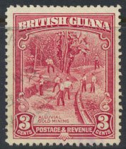 British Guiana SG 290  Used  perf 12½  (Sc# 212 see details)