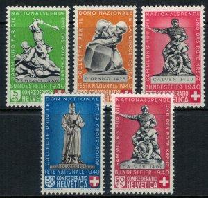 Switzerland #B100-4* NH  CV $26.00
