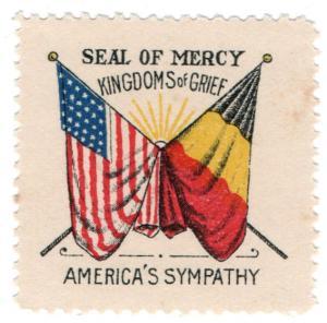 (I.B) US (Great War) Cinderella : Seal of Mercy (Occupation of Belgium)