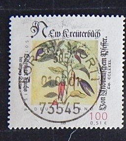 Germany, Flower, (№1560-Т)