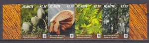2016 St Kitts 1541-1544 Trees and bushes 11,50 €