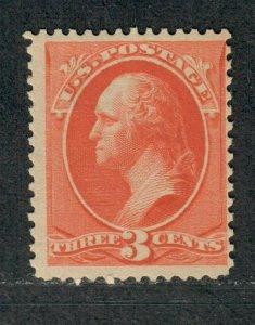 US Sc#214 M/NH/F, Cv. $180