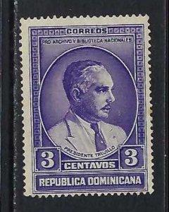 DOMINICAN REPUBLIC 313 VFU O801-4