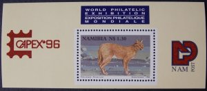 1996 Capex '96 MNH Miniature Sheet from Namibia
