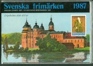 SWEDEN 1987 OFFICIAL YEARSET