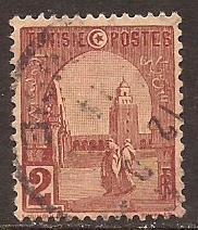 Tunisia  #  30  used