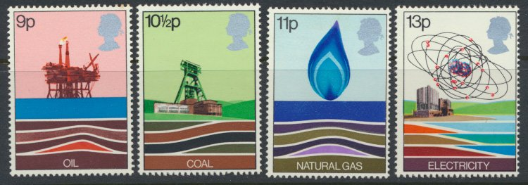 GB SC# 827-830   SG 1050-1053  MNH Energy Resources 1978