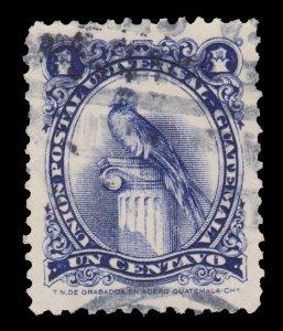 GUATEMALA STAMP 1954. SCOTT # 354. USED. # 4