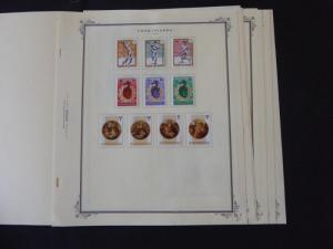 Cook Islands 1985-1986 Mint Stamp Collection on Scott Specialty Album Pages