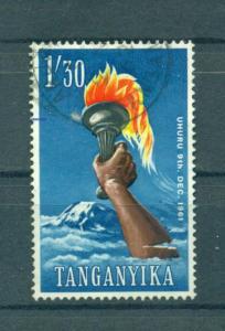 Tanganyika sc# 52 used cat value $.35