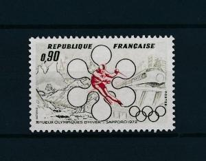 [43234] France 1972 Olympic Winter Games Sapporo Skiing Train MNH