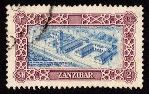 Zanzibar Scott 240 Used.
