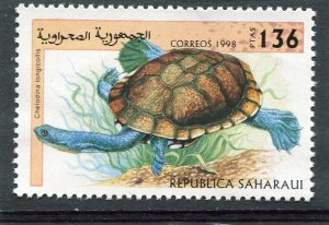 Sahara Republic 1998 TORTOISE 1 value Perforated Mint (NH)