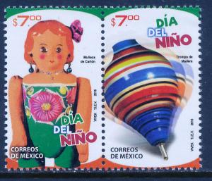 MEXICO 3001a, $7+$7P CHILDRENS DAY. MNH