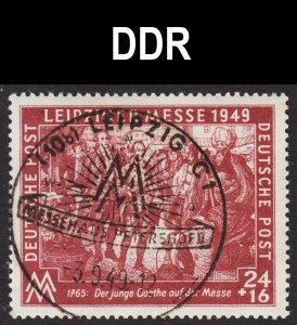 Germany DDR Scott 10NB13 F to VF CTO.