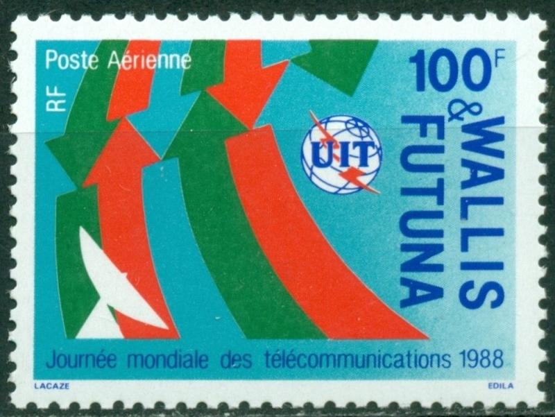 Wallis & Futuna Scott #C159 MNH World Telecommunications Day CV$3+