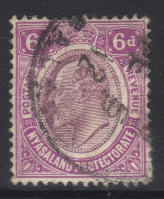 NYASALAND 1908-1911 MCCA SG77 USED CAT £11