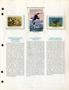 US 1979 Wildlife Conservation Stamp Album