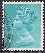 Great Britain #622 1/2P Queen Elizabeth 2, Stamp used F-VF