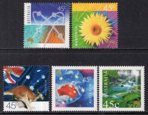 Australia 1830-1834 MNH VF