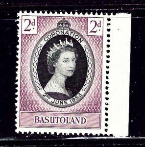 Basutoland 45 MH 1953 QEII Coronation    (ap1378)