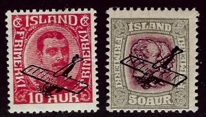 Iceland SC C1-C2 Mint Fine SCV$71.00...Worth a Close look!!