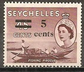 Seychelles #193 Mint Never Hinged F-VF (ST658L)