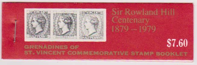St. Vincent Grenadines - 1979 Rowland Hill Complete Booklet